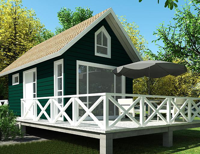 小型轻钢别墅