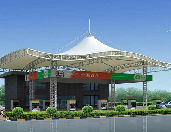 加油站建筑膜结构