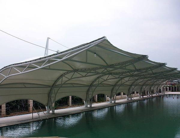泳池膜结构建筑