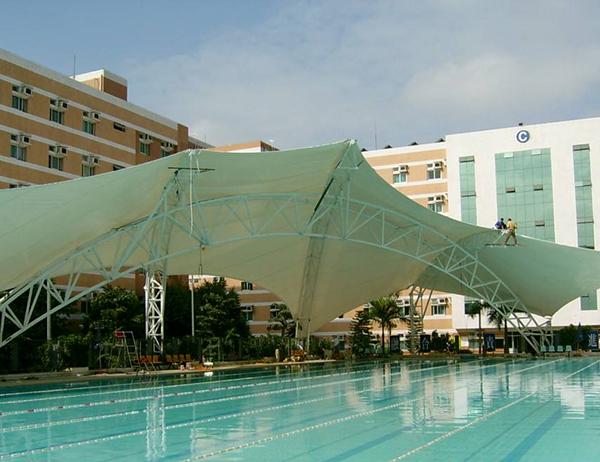 膜结构泳池