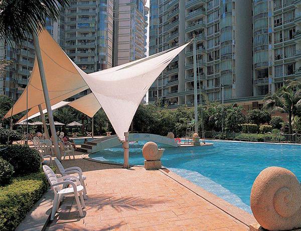 室外游泳池膜结构