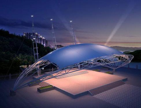 精美舞台膜结构