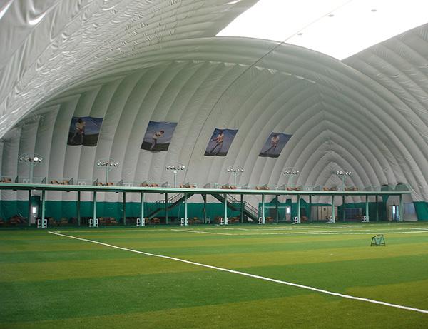 充气膜结构羽毛球馆