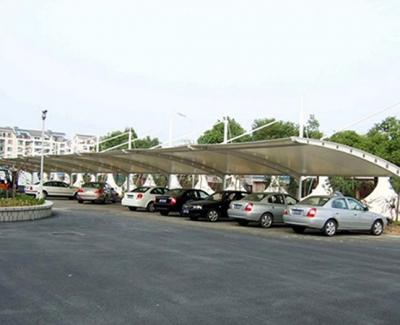 农业大学膜结构车棚安装
