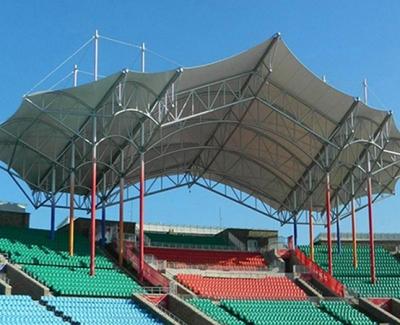 青岛膜结构看台安装体育中心