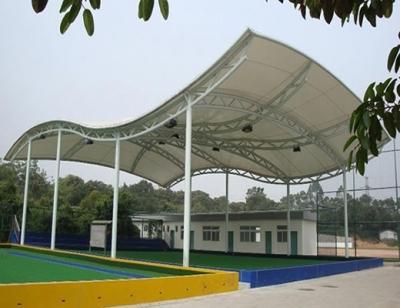 遮阳伞膜结构