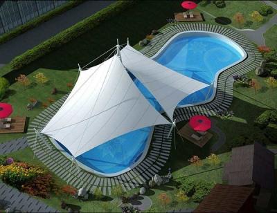 平度泳池建筑膜结构