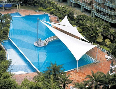 平度泳池膜结构