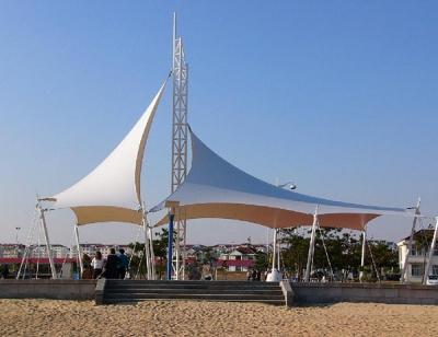青岛膜结构景观公园