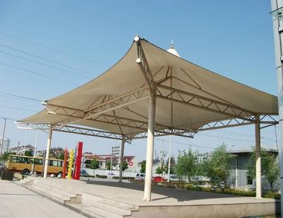 膜结构舞台雨棚