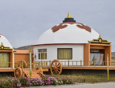 蒙古包膜结构住宅