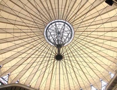 宁阳舞台膜结构装饰