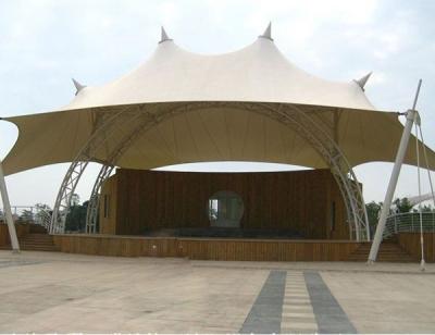 嘉祥室外舞台膜结构