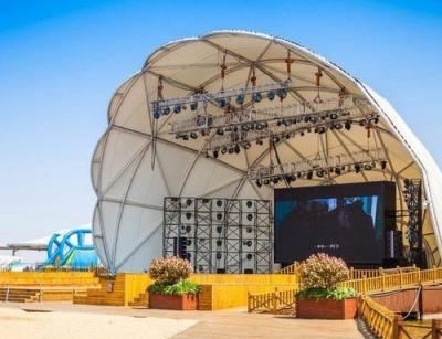 平度大跨度膜结构舞台