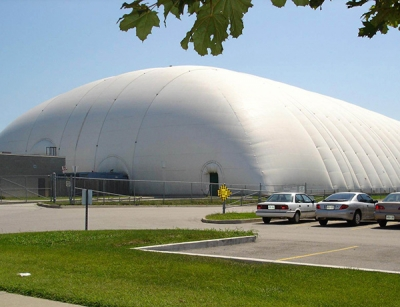 宁阳气枕膜结构体育馆