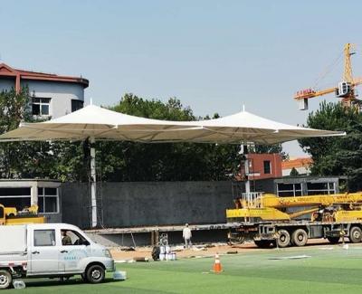 城阳一中体育场膜结构看台