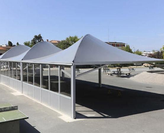 你会清洗膜结构停车棚吗?